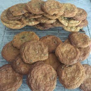Homemade Choc Chip Cookies