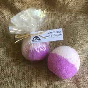 Welsh Rose Luxury Bath Bomb