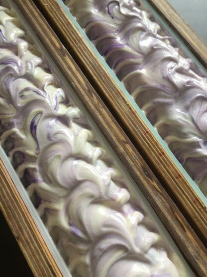 Luscious Lavender in the Mould