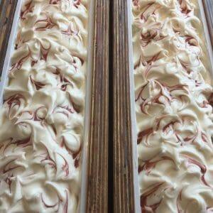 Warm Gingerbread Mica Swirls
