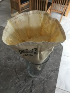 Piping Bag in a Glass