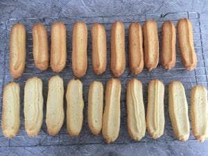 Baked Viennese Fingers