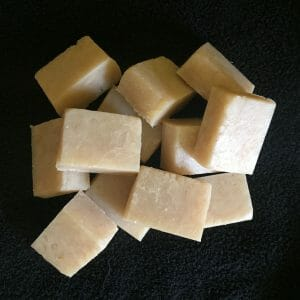 Cut Hot Process Shampoo Bars