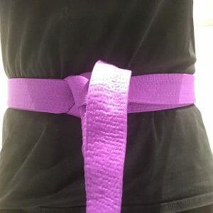 Kickboxing Purple Belt