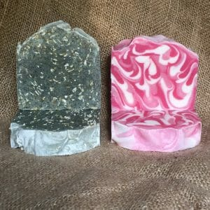 Scrubby Peppermint & Welsh rose, just cut