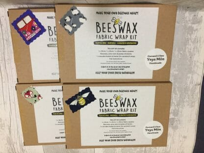 DIY Beeswax Wraps Set