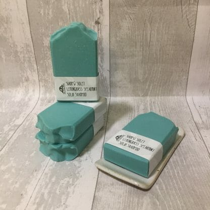 Lemongrass & Spearmint Solid Shampoo