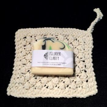 Cream Spa Cloth