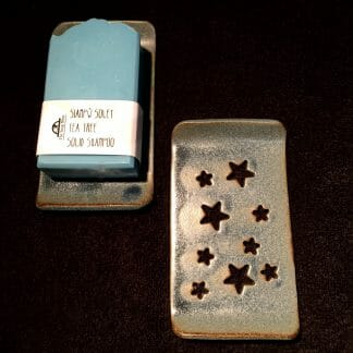 Rectangular Denim Dish Stars