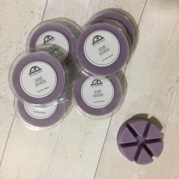 Lavender wax melts