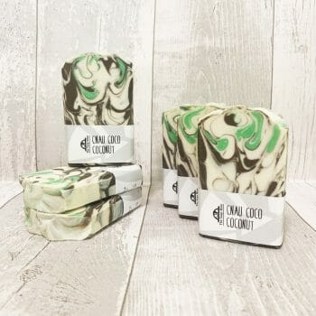 Coconut soap - wrapped