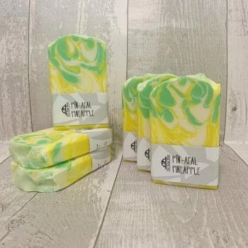 Pineapple Handmade Soap